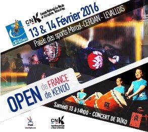 Affiche Open Kendo 2016